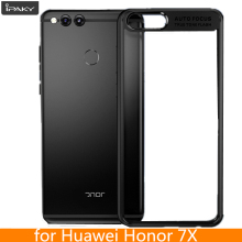 For Huawei Honor 7X Case Original iPaky Honor 7X Silicone Acrylic Hybrid Shockproof Transparent Cover for Huawei Honor 7X Case(China)