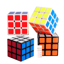 57mm Professional Magic Toys 3x3x3 PVC Sticker & Frosted Block Puzzle Speed Cube Learning Educational Puzzle Migico Cubo Toys