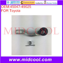 High Quality Auto Parts Left or Right Outer Steering Tie Rod End OEM:45047-49025