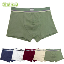 5 Pcs/lot Soft Cotton Kids Underwear Comfortable Pure Color Baby Boys Boxer Shorts Panties Children's Teenager Underwear 2-16y