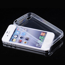 Hot Sale Transparent Clear Soft Silica Gel TPU Case Silicone Cover for iPhone 4 4s 5 5s 6 Ultra Thin Mobile Phone Case Cover Bag