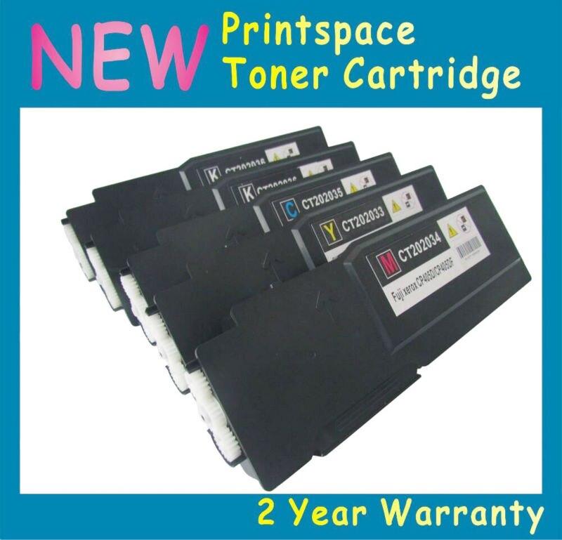 5x NON-OEM Toner Cartridges Compatible For Xerox DocuPrint CP405 CP405d CM405 CM405df CT202033 CT202034 CT202025 2BK+CMY<br><br>Aliexpress