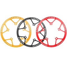 Ultra Light Folding bike Aluminum Alloy Chainwheel AL7075 BCD130mm 53T / 56T / 58T Chainwheel Chain Cover