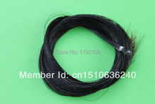 1 hanks high quality black Horse Hair Horse Tail Hair Bow Parts Violin Bow Mongolian Stallions Horse bow hair