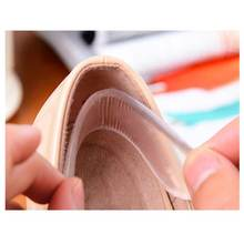 1Pair Heel Back Invisible Silicone Gel Stickers Transparent Slip Resistant Shoes Sticker Silicone High Heel Pads Insole Massage(China)