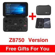 GPD WIN Aluminium Shell Version 5.5 Inch Mini Game Laptop Notebook CPU x7-Z8750 Windows 10 System Bluetooth 4.1 4GB/64GB(Black)