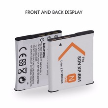 NP BN1 3.7V 900MAH Rechargeable Lithium-ion Camera Battery For Sony Digital Camera High Recycle Life Battery