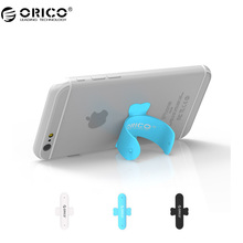 ORICO SU1 Deformable Mobile Phone Stand Holder Mini U Silicone Bending Universal Tablet Stand Holder(China)