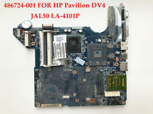 High quality laptop motherboard for HP Pavilion DV4 486724-001 JAL50 LA-4101P DDR2 100% Fully tested(China)