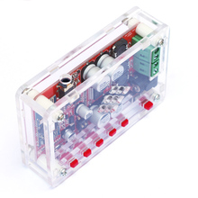 Bluetooth 4.0 Audio Receiver Case Cover Shell Acrylic DIY Amplifier Board Module for TDA7492P 2*25W Wireless  with AUX Interface