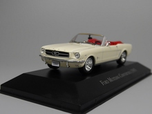 Auto Inn - ixo 1:43 Ford Mustang Convertible 1965 Diecast model car(China)