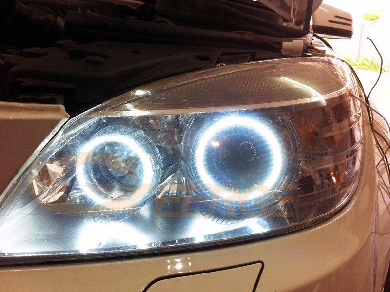 MERCEDES BENZ C Class W204 C204 S204 C300 C350 C63 2007-2011 Xenon headlight smd led angel eyes(3)