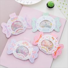 Lovely Kitty My Melody Little Twin Stars Cinnamoroll Candy Crystal jelly Stickers Decorative Planner Phone Album Index Stickers(China)