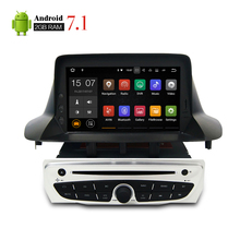 "7"" 1 Din Android 7.1 Car DVD Player GPS Multimedia Stereo For Renault Megane 3 Fluence Auto Radio Video Navigator Headunit 2GRAM(China)"