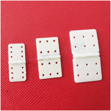 20pcs/lot Nylon & Pinned Hinge 20x36mm / 16x29mm / 12x24mm For RC Airplane Plane Parts Model Replacement(China)