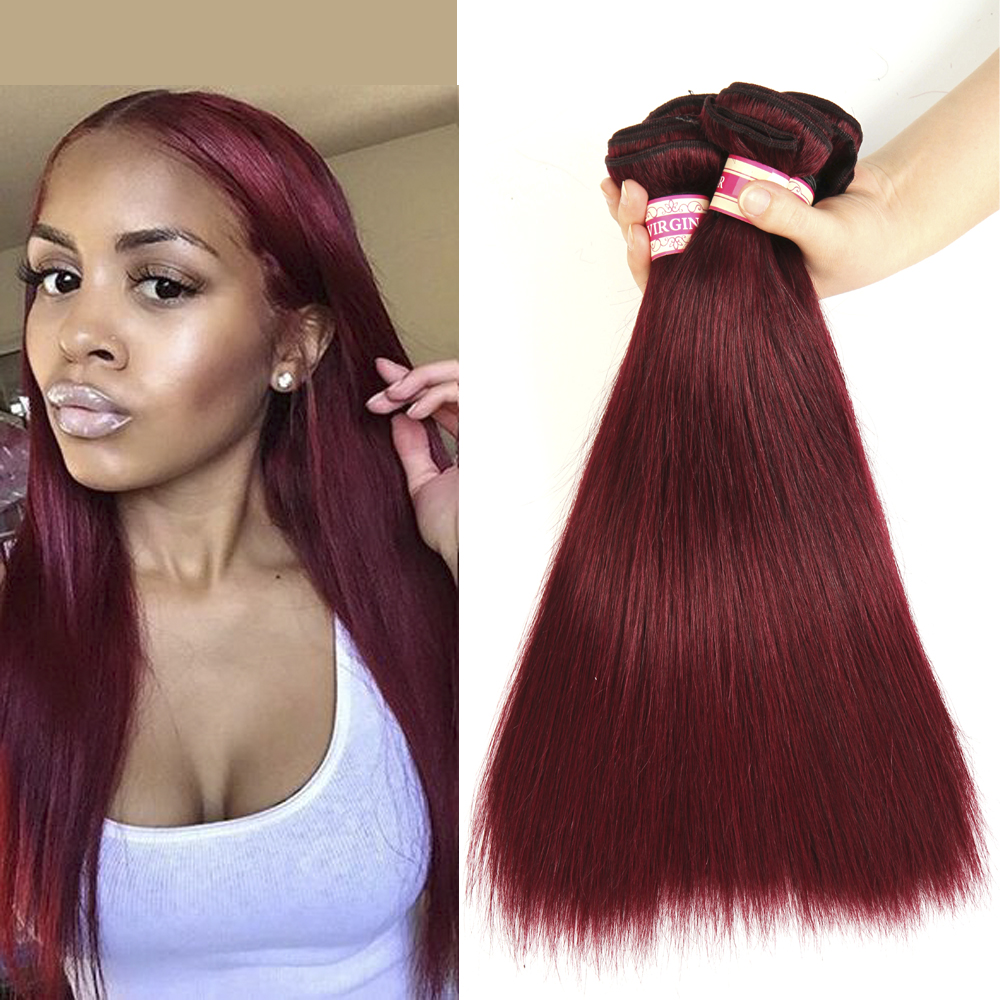 Brazilian Virgin Hair Straight 2Bundles Straight Brazilian Hair 100g/pc Human Hair Extensions 8A Unprocessed Virgin Hair Bundles<br><br>Aliexpress