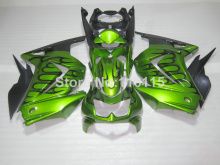 Fit for Kawasaki Ninja fairings 250r 2008- 2014 injection molding 08-14 black flames green motorcycle fairing kit EX250 NZ24