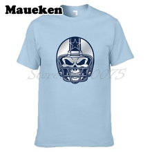 Men Helmet Dez Bryant 88 T-shirt Clothes T Shirt Men's for Dallas fans gift o-neck tee W0315011(China)