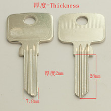 A252 Wholesale Locksmith Keymaster Brass House Home Door Blank Empty Key Blanks Keys