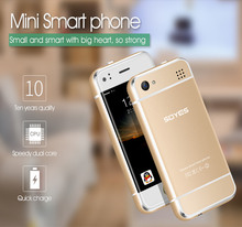"Original Soyes 6S Mini Android Smart Phone 2.4"" High Resolution Screen MTK6571 Dual Core 1GB RAM 8GB ROM 2.0MP Dual SIM Phone"