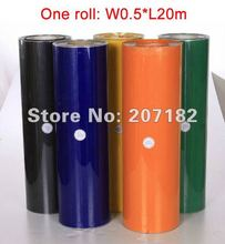 One roll 0.5*20m Various Color Vinyl Transfer Film,Heat Transfer Film,Cutting Plotter Film(China)