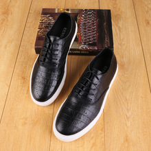 High-quality new color British shoes manufacturers wholesale trend wear-resistant casual lace with a single shoe processing