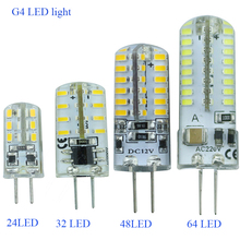 G4 led Bulb Lamp High Power SMD3014 3W 5W 6W 12V 220V Replace 10W 30W halogen lamp 360Beam Angle LED lamp