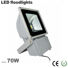 Free ship China factory Wholesale outdoor led flood light 70W IP65 waterproof 3 years warranty CE Rohs 100LM/W Epistar chip