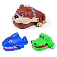Funny Practical Jokes Creative Special Toys Prank Alligator Crocodile Biting Finger Family Game Toys Novelty Toys Hot Selling