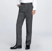 2017 Newest hotel food service Free Shipping autumn Cook pants work pants checked striped chef pants unisex chef trousers