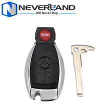 4 Button Key Blank Mercedes Benz E C R CL GL SLK New Remote Key Fob Shell Case 1PC Free Shipping D25