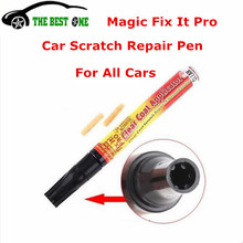Dropshipping Magic Fix It Pro Resist Water Car Repair Pen Paint Scratch Remover Mend Simoniz & Scuff Marks Clear Coat Applicator(China)