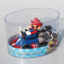 Retail Game Super Mario Bros Action Figures Kart PULL BACK Cars Mario/Luigi Free shipping(China)