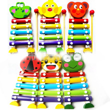 19cm Cute Cartoon Baby Perform Animal Kid Hot Infant Frogs Mini Child Early Educational Toy Beat piano Fun Kids Toys