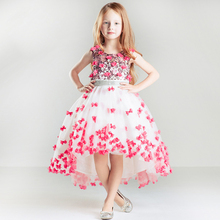 High Quality Flower fairy child princess dress piano performance Wedding Birthday Party  banquet evening  Dresses For Girl