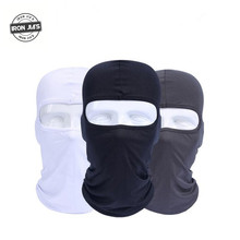 IRON JIA'S Motorcycle Face Masks Motorcycle Headgear Full Face Mask Summer Breathable Motorcycle Sun-protection Balaclava(China)