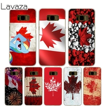 Lavaza Canada Flag Cover Case for Samsung Galaxy S7 Edge S6 S8 Edge Plus S5 S4 S3 Mini S2 Cases Shell(China)