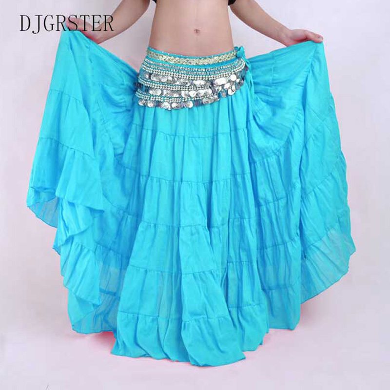 DJGRSTER-2017-High-Quality-Women-Sexy-Belly-Dance-Costume-Skirts-3-Rows-Belly-Dancing-Skirt-Chiffon (4)