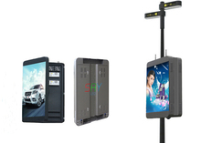 Wifi/3G intelligent management street lighting pole led display giant screen P5 advertising led display(China)