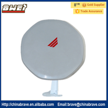 Free shipping 26cm ku band mini satellite dish antenna build-in lnb HD Vision for Europe market(China)