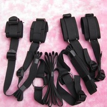 New Sexy Private Secret Underbed Bed Restraint System Set Kit Hidden Temperament Adult Sex Toy For Couple Cuff Fetish Bondage