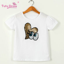 Baby Girl Clothes Summer 100% Cotton White Girls T-Shirt Tops Tee Children Clothing Short Sleeve Baby Girls T Shirt