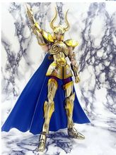 metal club metalclub Capricorn Shura glod Saint Myth Cloth Ex action figure Saint Seiya model toy metal armor(China)