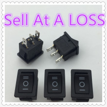 5pcs/lot 15*21mm 3PIN ON/OFF/ON G120 Boat Rocker Switch 6A/250V 10A/125V Car Dash Dashboard Truck RV ATV Home