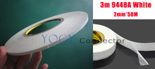 5x 2mm 3M 9448A Two Sided Adhesive Tape for Mobile Phone Repair LCD Touch Screen Housing Adhesive
