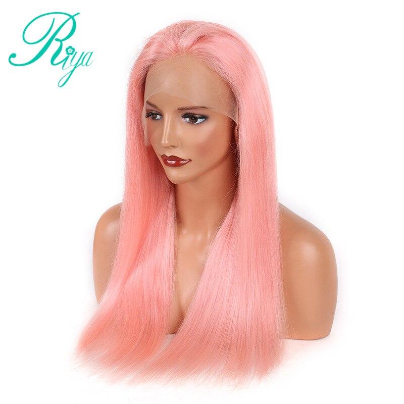 pink human hair wig (1)