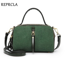 REPRCLA Luxury Designer Shoulder Bags Fashion Small Crossbody Women Messenger Bags Double Sided PU Leather Ladies Handbags