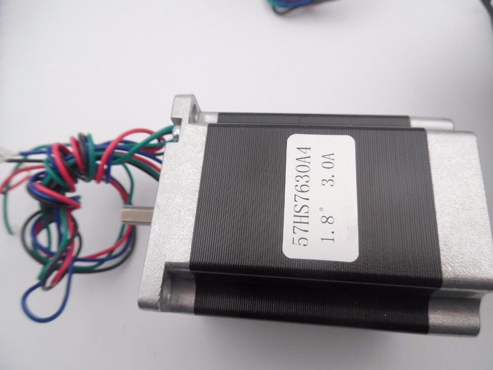5pcs CNC Stepper Motor NEMA 23 Hybrid Servo Motor 4-lead 1.8Nm 3A 57BYG L76mm for CNC Engraving Machine 3D Printer<br><br>Aliexpress