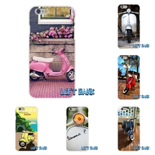 vespa scooter motorcycle  Soft Silicone TPU Transparent Cover Case For Samsung Galaxy Note 3 4 5 S4 S5 MINI S6 S7 edge