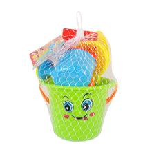 Kids Children Sand Pit Summer Beach Bucket Toys Seaside Games Set of 9(China)